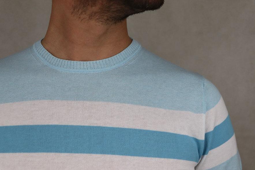 Wool & Co shirt blue light