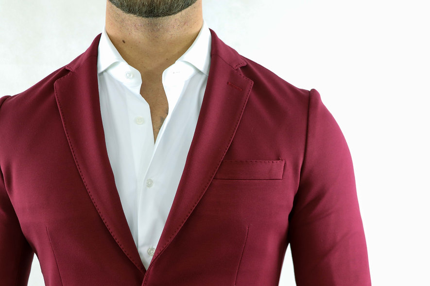 Suit Lavoro Deep red