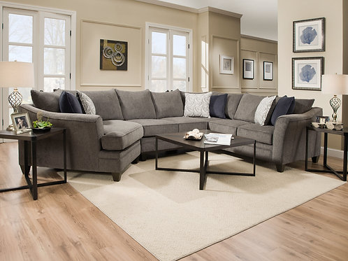6485 Albany Pewter Sectional