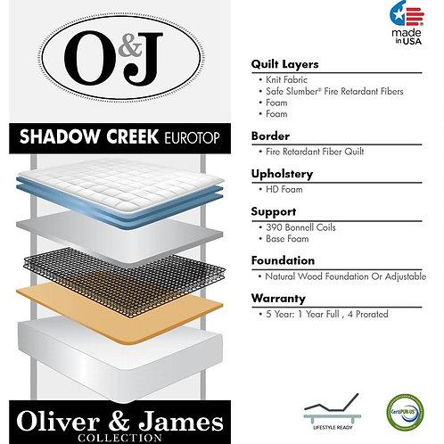 Shadow Creek Euro Top