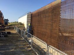Tank Walls Reinforcement & Shuttering