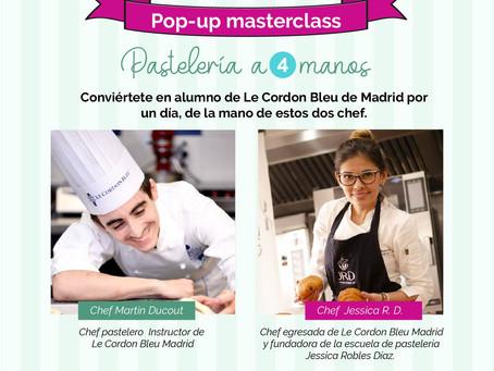 La chef Jessica y Le Cordon Bleu Madrid te llevan a la mejor feria de la industria gastronómica