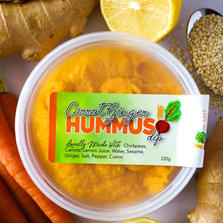 Carrot Ginger Hummus