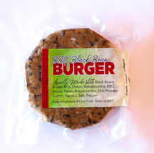 BBQ Black Bean Burger