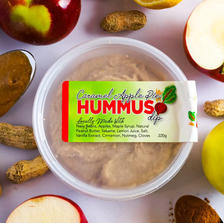Caramel Apple Pie Hummus