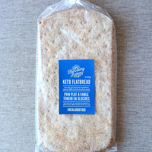 Keto Flatbread (2 per package)