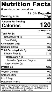 Baguette Nutrition Label.jpg