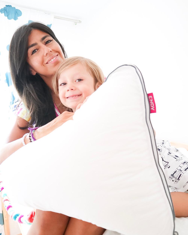 charlene lizette single mother toronto endy mattress and endy pillow