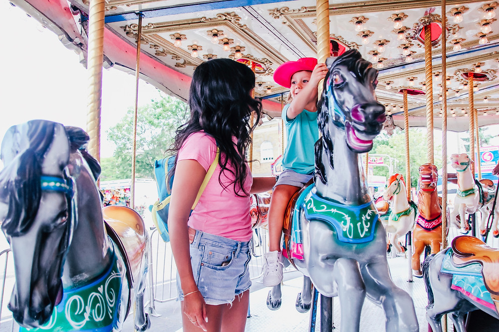 carousel, colour, carnival, horses, CNE, exhibition, fair, that single mom, Charlene Lizette