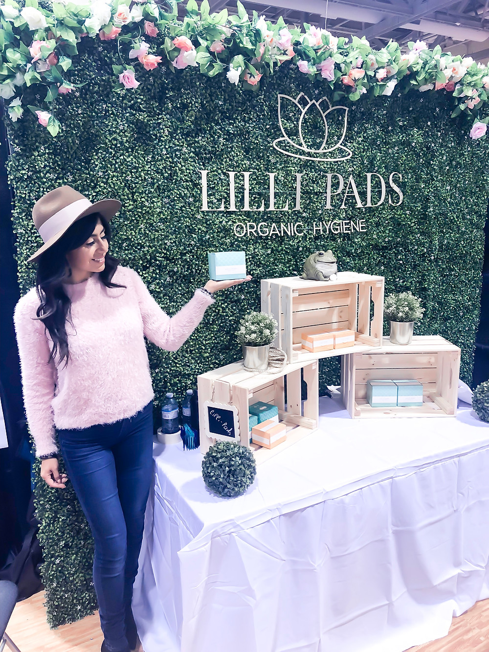 lilli pads, toronto actor, actor, that single mom, that single mom Charlene Lizette, Charlene Lizette, National Womens Show