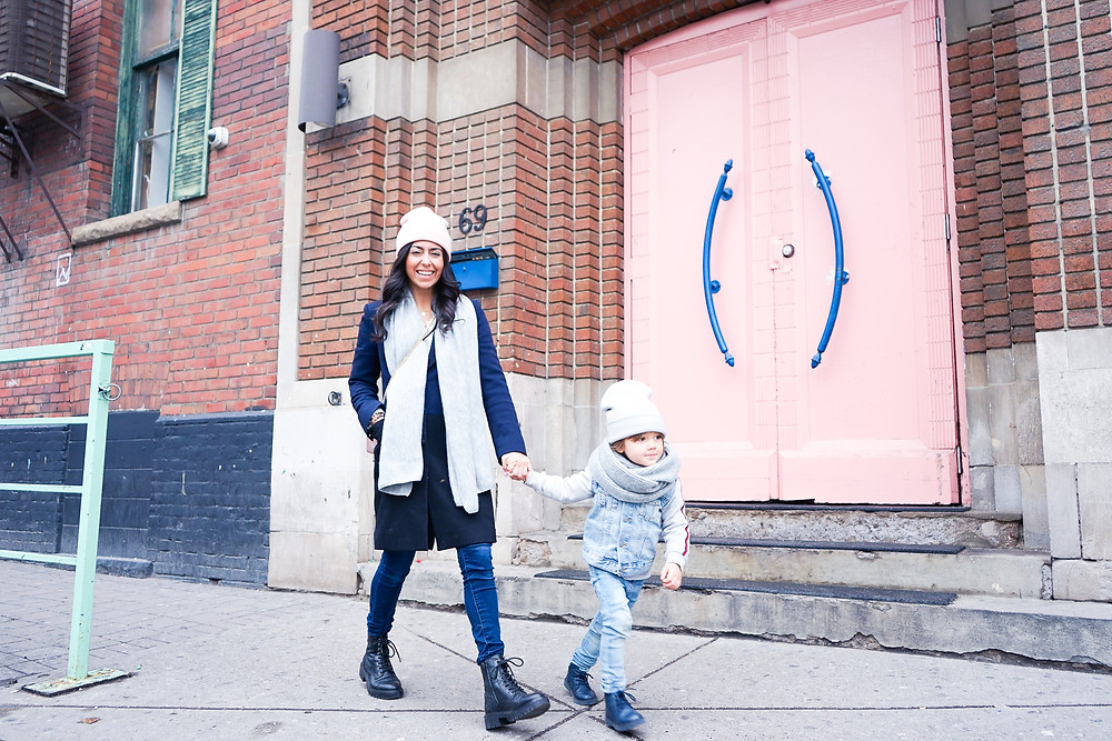 that single mom charlene lizette, charlie marcos, toronto bloggere, pink spots toronto, love child social