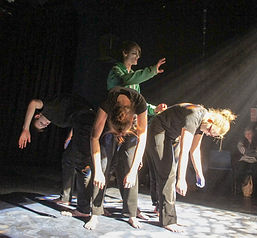 Performing in the National Theatre Conne