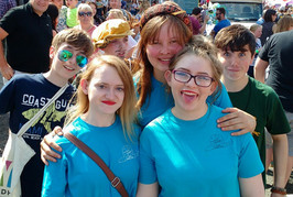 Without young people, or volunteers Slow Theatre Company would feel a very sad place!