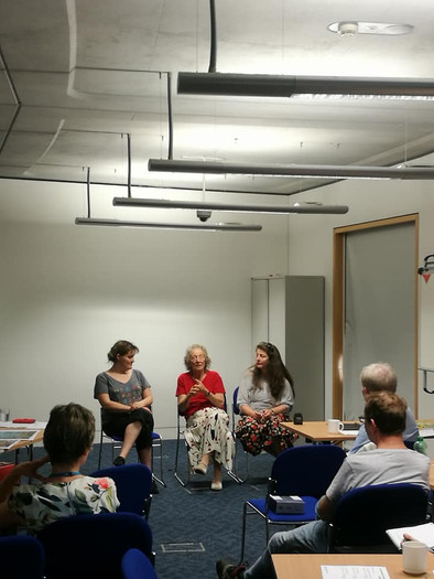 After a performance of I'm Here we held a Q&A, with Carers in attendende.