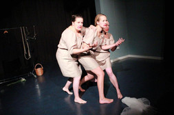 The company's first work, with Helen Ivory's new poetry The Dissapearing. This was nominated for the Ted Hughes Award