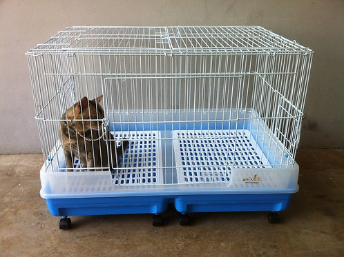 Rabbit Cage C08 with pull out tray