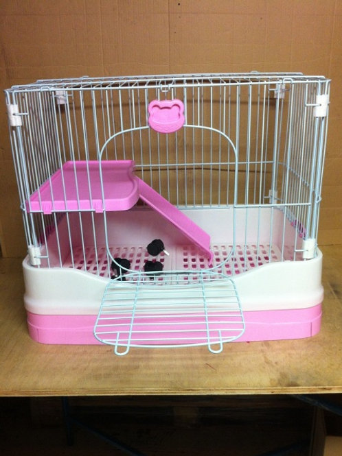 Rabbit Cage C06 with pull out tray