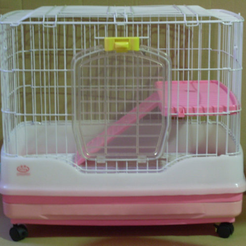 Rabbit Cage R61 with pull out tray