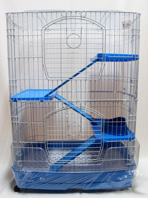 Cat Cage F22 with pull out tray