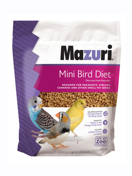Mazuri Mini Bird Diet 2lb