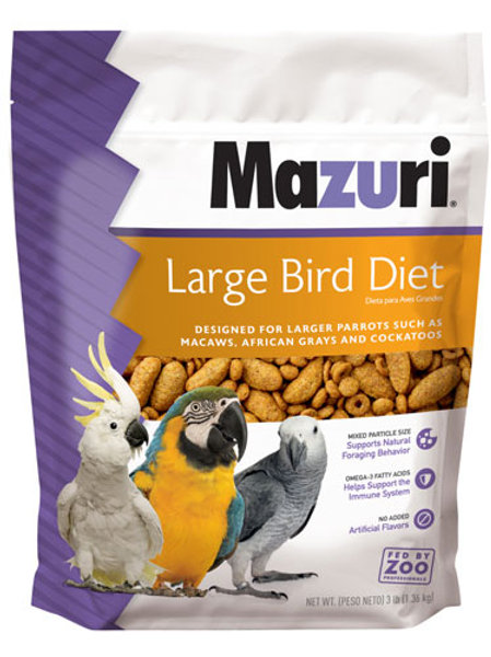 Mazuri Large Bird Diet Maintenance 3lb