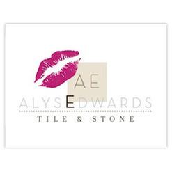 AlysEdwards Tile and Stone Logo