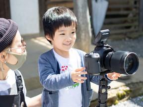 初めてのNAUGHTYS TIME!!! 子供向けワークショップ カメラマンになってみよう!!