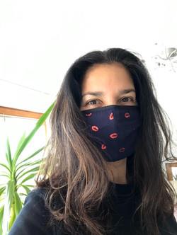 Kuss Maske