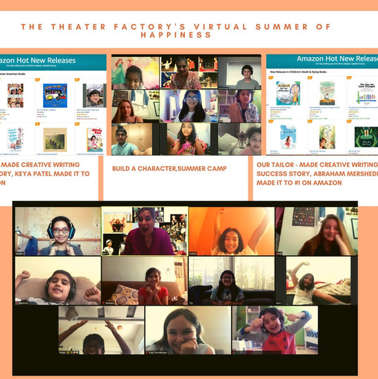 The Theater Factory's virtual summer Of