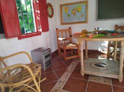 Interior casita de niños