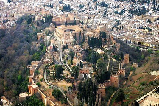Alhambra desde el aire