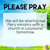 Requesting Prayer