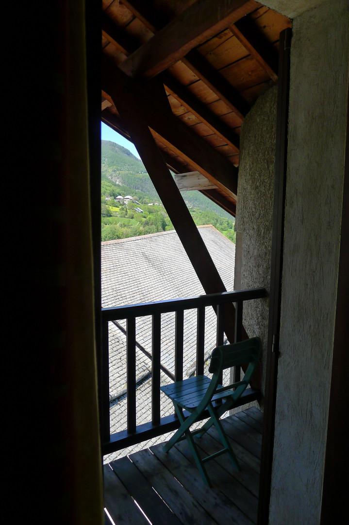 balcon chambre double