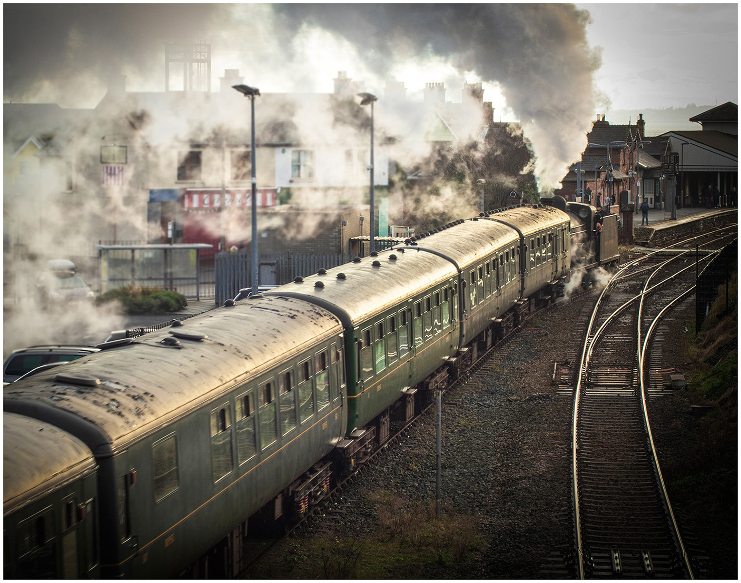 PDI - Steam train Whitehead  by Mary Ross (10 marks)
