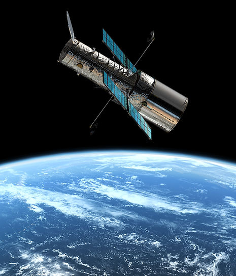 The_joint_ESA_NASA_Hubble_Space_Telescop