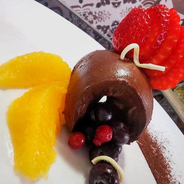 Шоколадов мус с авокадо