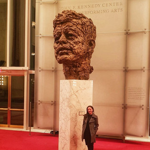 IVLP Dr Dunn at the JFK Centre for Perfo