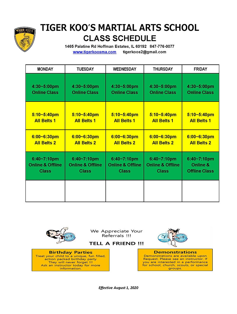 T2 Hoffman Estates Schedule.JPG