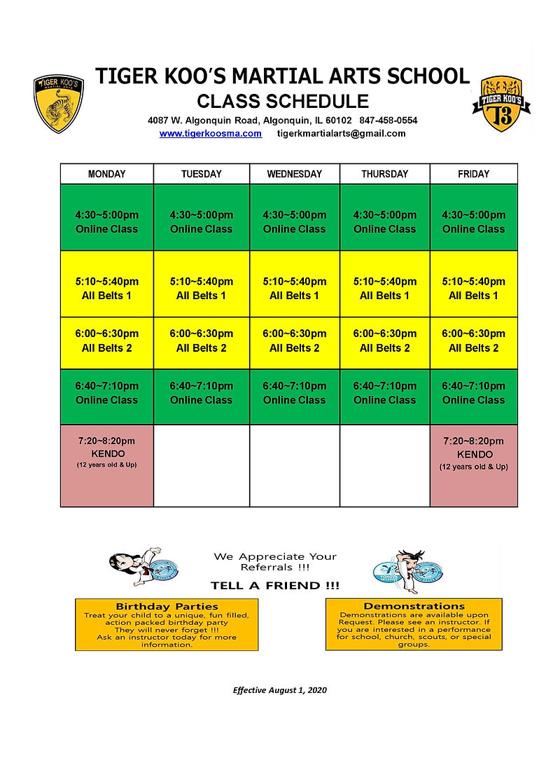 T3 Lake in the hills schedule.JPG