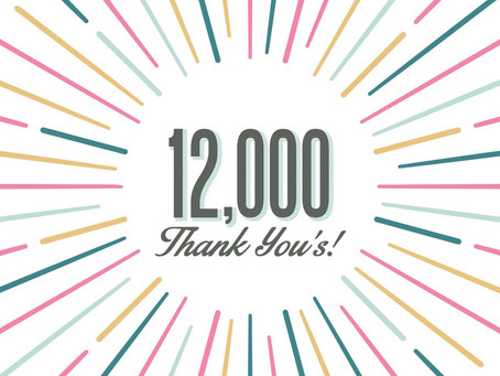 12,000 Thank You's from The Favela Foundation