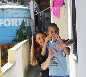 Teacher and Student in the Favela