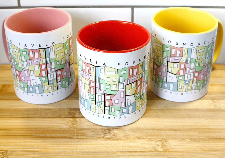 Colourful Favela Mug