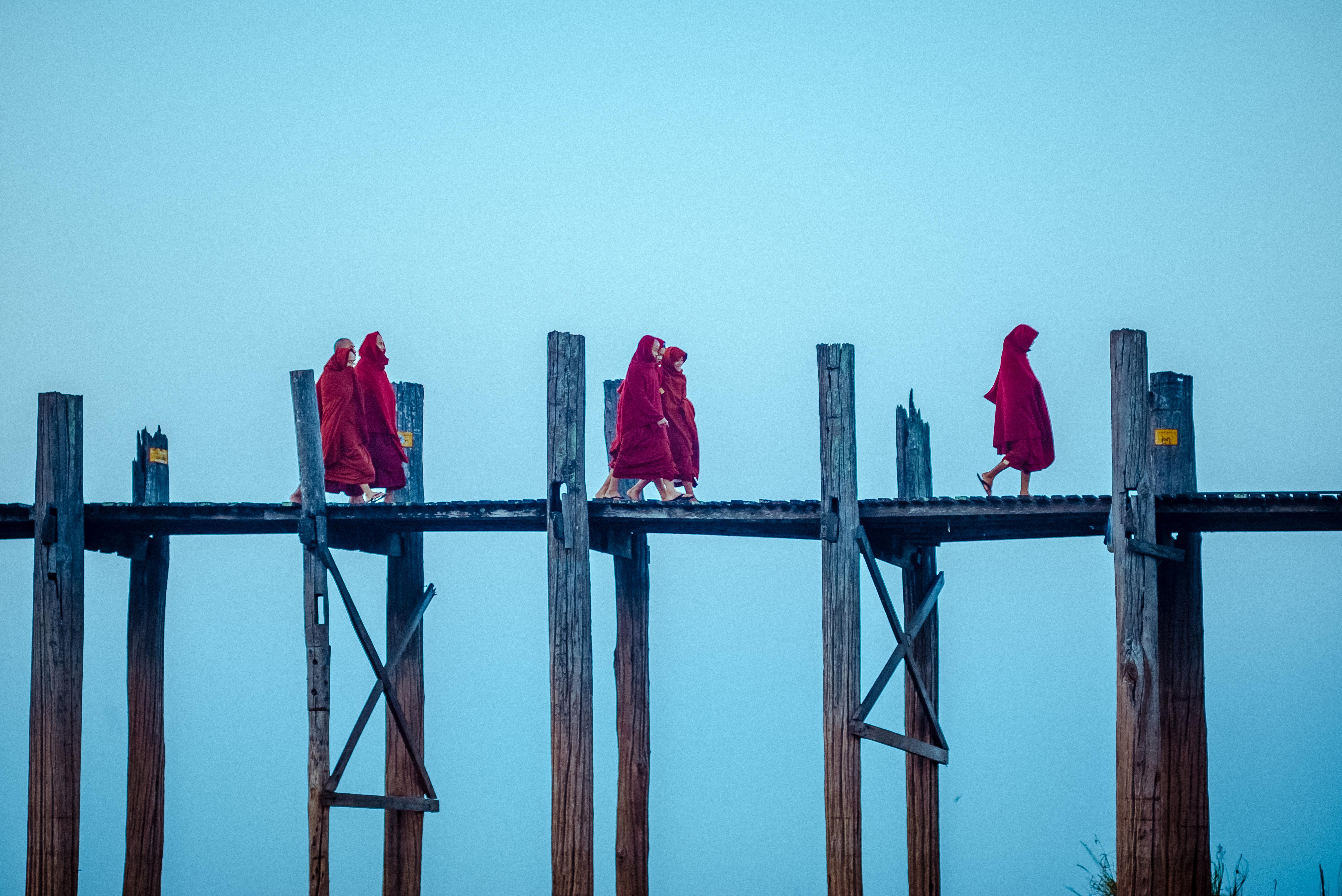 Flickr - Crossing the U Bein Bridge