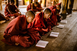 Flickr - Young Monk Studying Hard