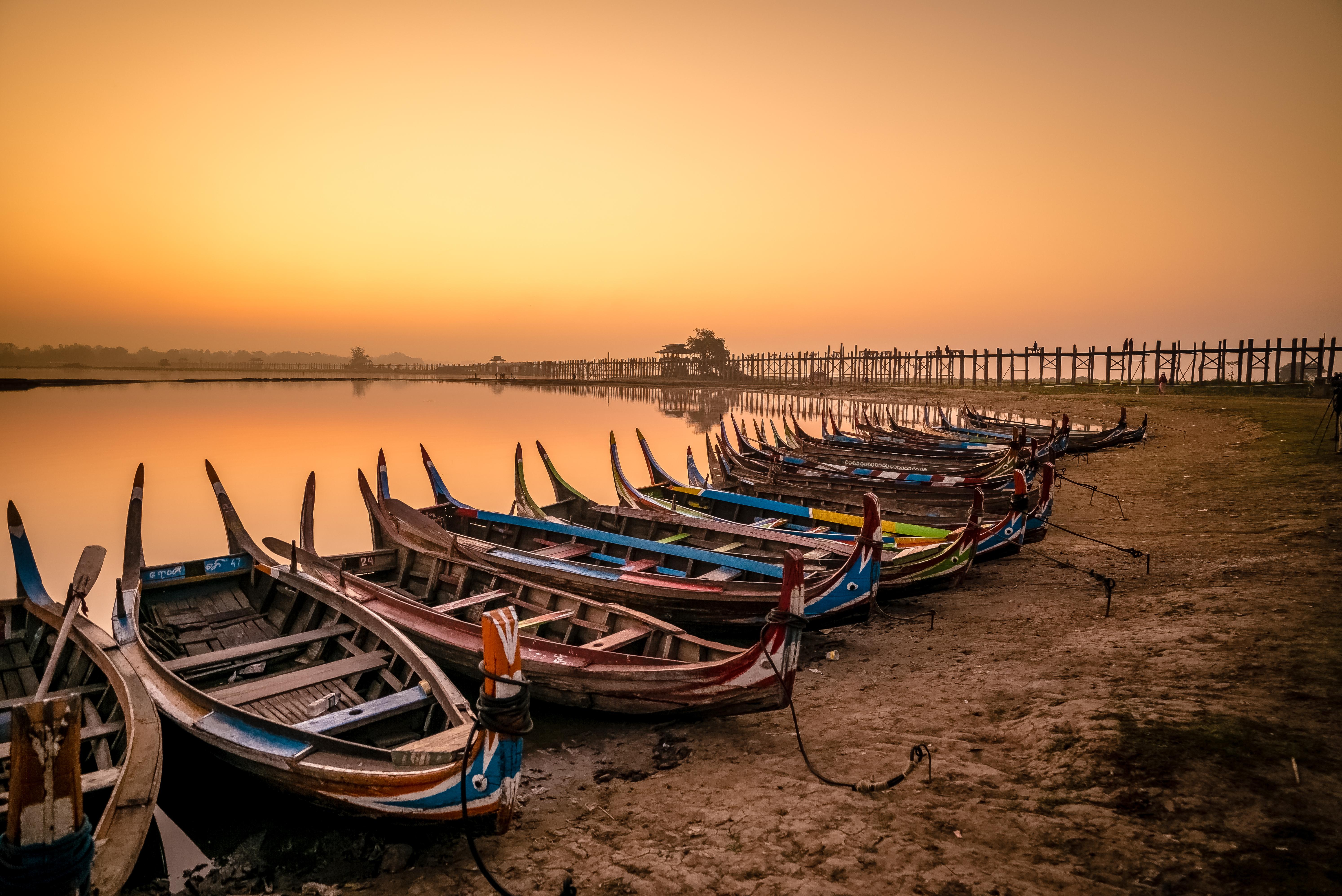 Flickr - U Bein Bridge @ Sunset 2