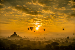 Flickr - Sunrise at Bagan