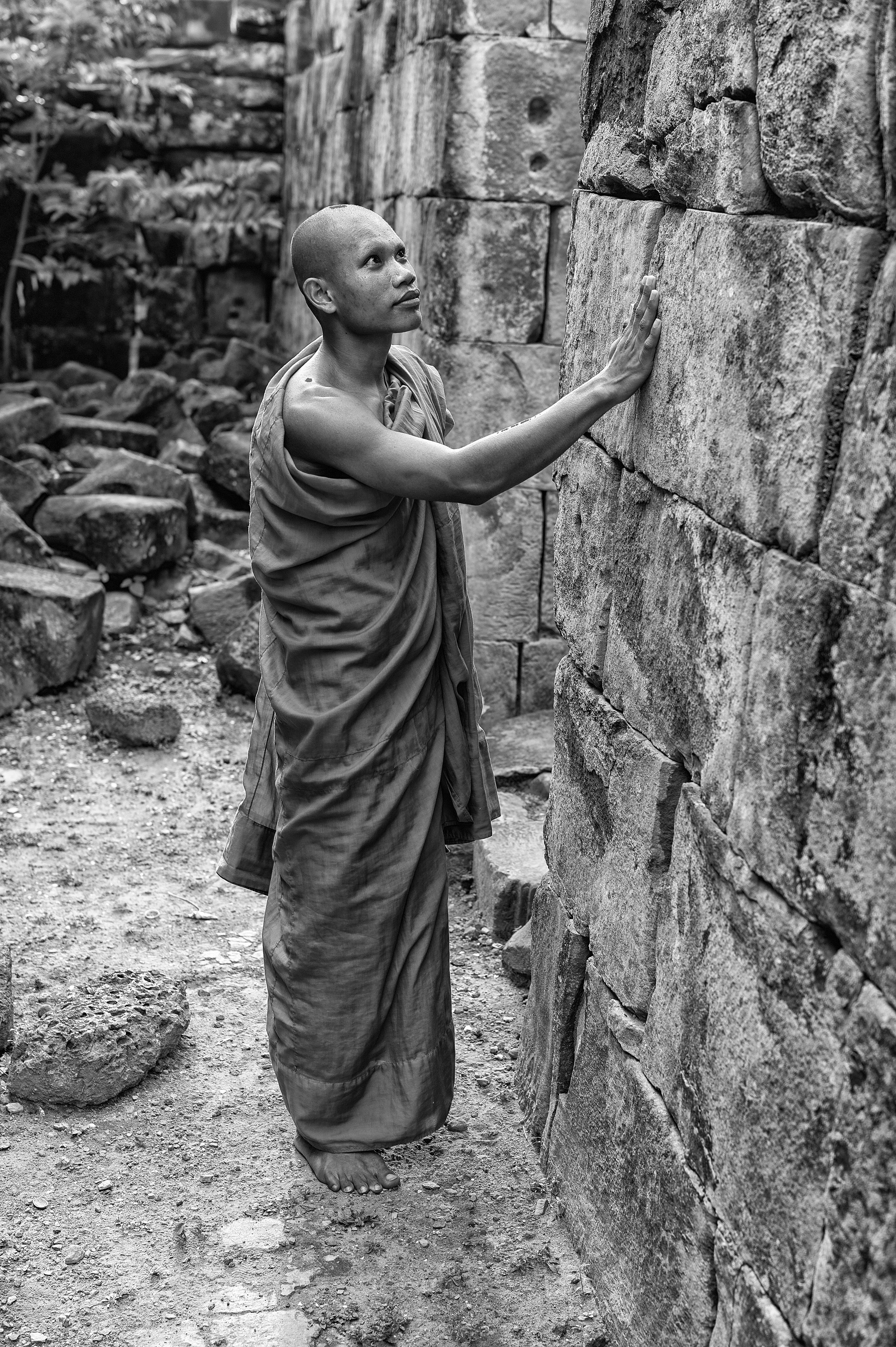 Flickr - Praying Monk 1