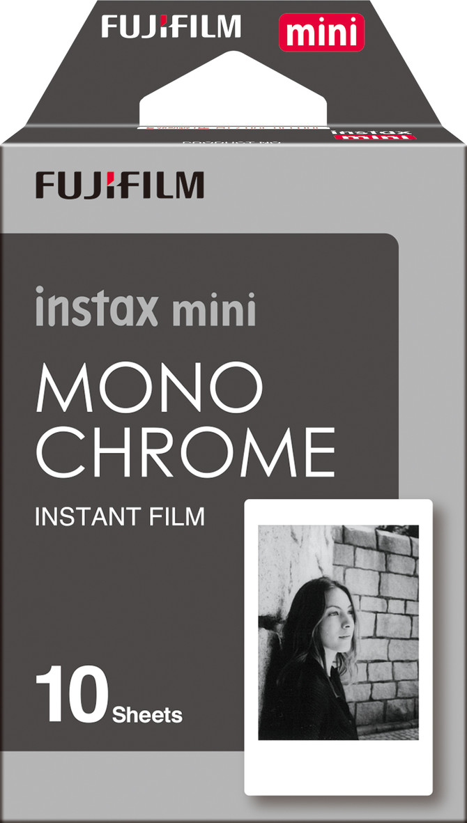 My review of the new Fujifilm Instax Monochrome film