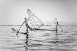 Flickr - The leg-rowing fishermen