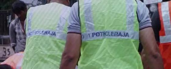Logical Indian- PotHoleRaja coverage